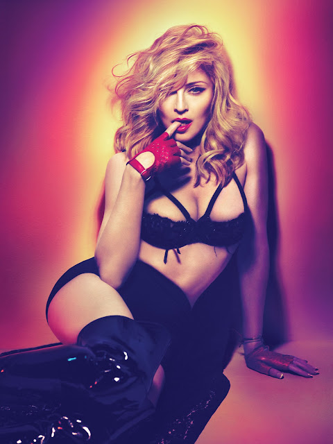 CONFIRA 5 FOTOS DO ENSAIO DO MDNA EM HIPER HQ!