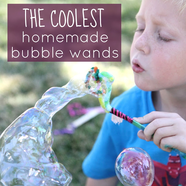 toddler approved   homemade bubble wands for kids