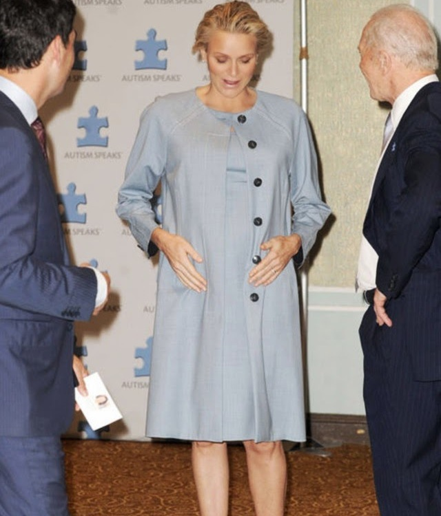 Princess Charlene attended the world conference on autism  held in New York.
