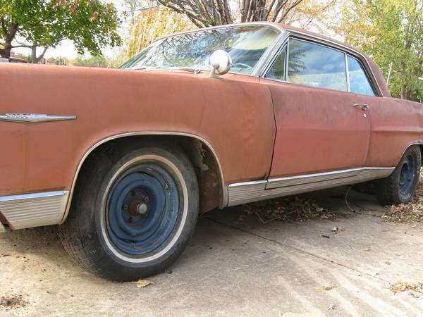 Restoration project cars 1964 pontiac bonneville coupe for American restoration cars for sale