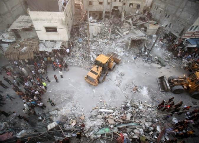 ارتفاع عدد شهداء غزة إلى 106.. والمقاومة ترد بـ 600 صاروخ