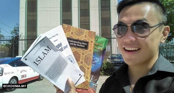 Benarkah Alvin Tan akhirnya dapat hidayah dan mula belajar tentang Islam?