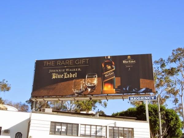 Johnnie Walker Blue Label rare gift billboard