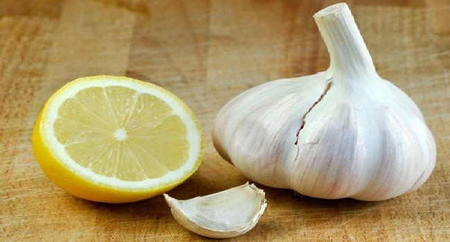 Infusion De Ajo y Limón