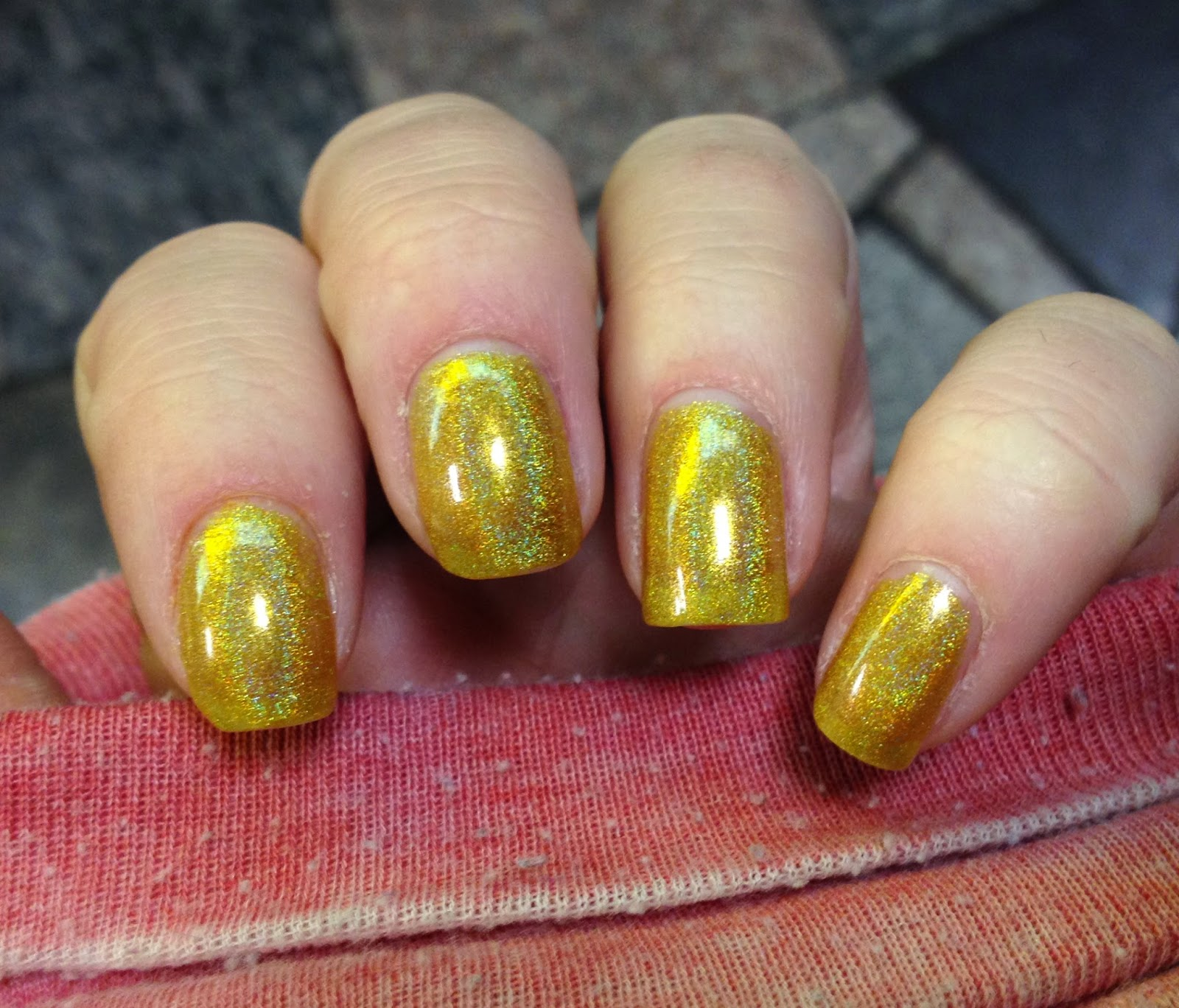 Princess Polish: Swatch and Review: Jade Mystic Gold