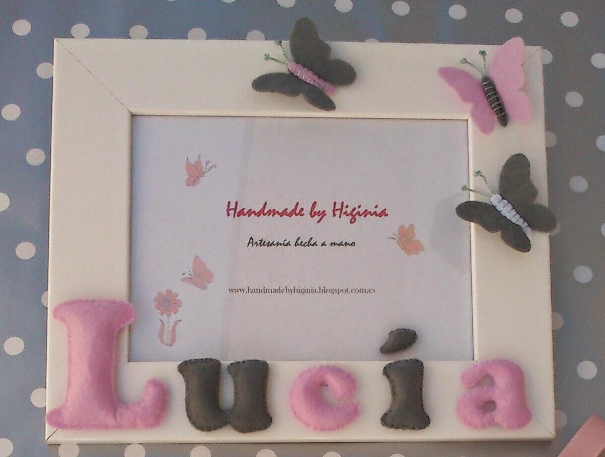 Handmade by Higinia: Detalles para bebés
