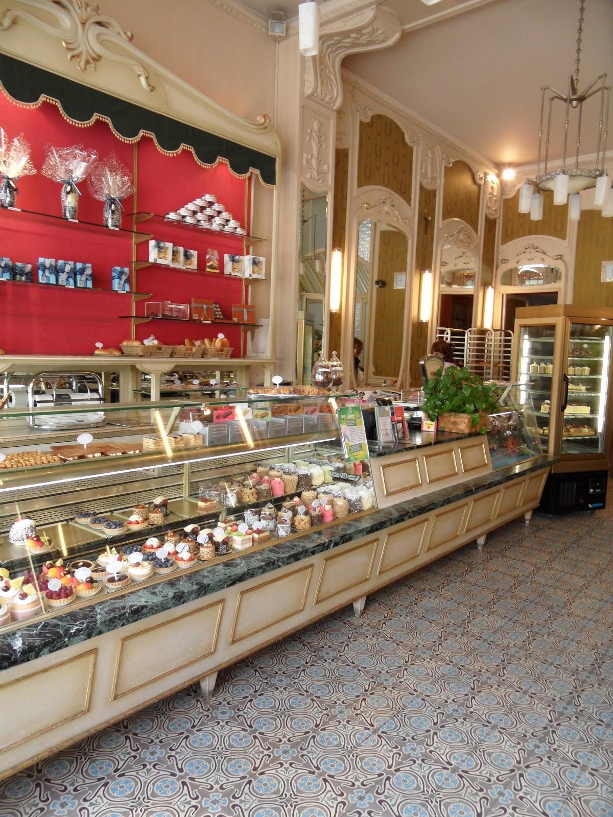 Le joli décor de la pâtisserie Quesnoy