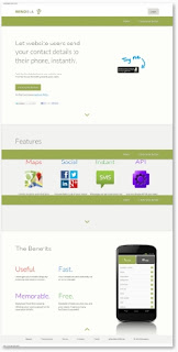 Sendola.com Launches Tool To Send Contact Details To Website Visitors' Phones