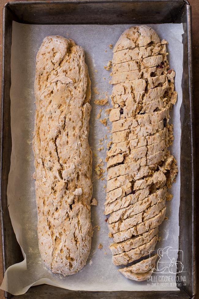 Biscotti piernikowe dyniowe cantucci