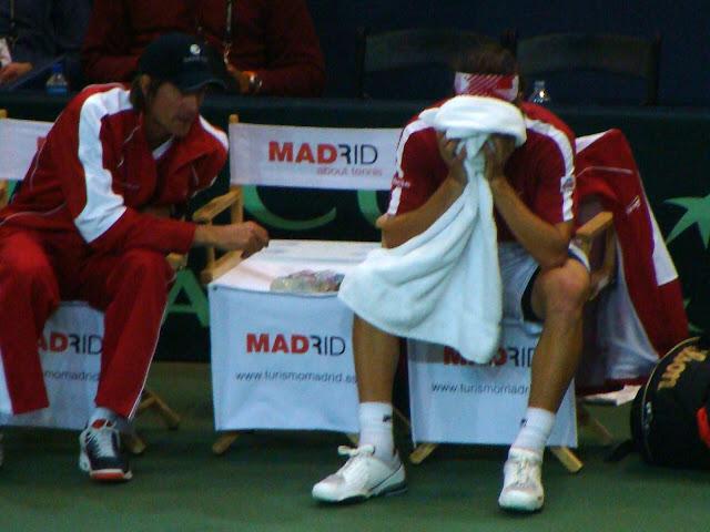 Frank Dancevic Davis Cup