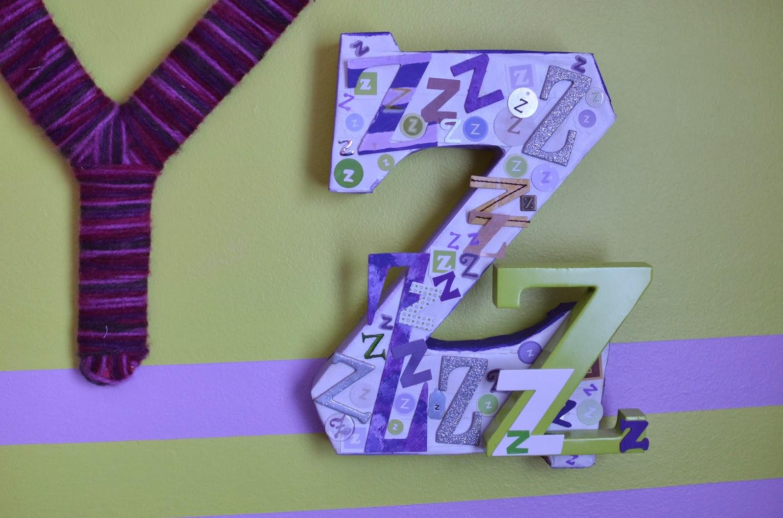 Diy Alphabet Wall Decor : Mega monkey mash diy eclectic alphabet wall art part