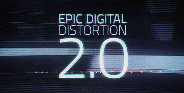 VideoHive Epic Digital Distortion