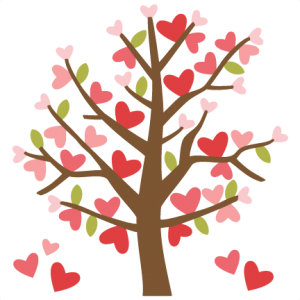 Valentine Tree by Miss Kate Cuttables