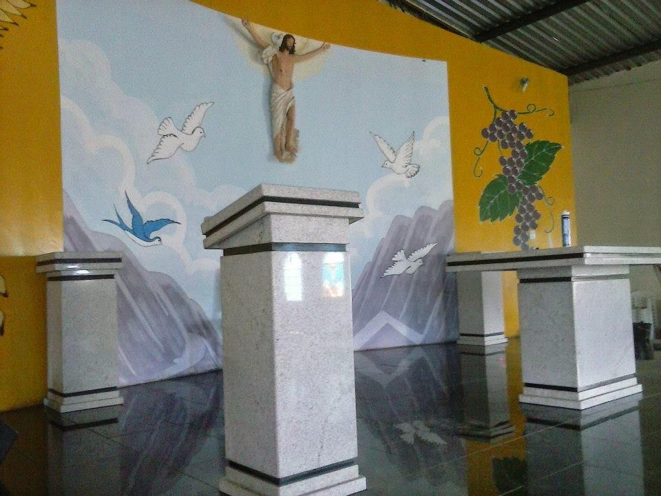 Novo Altar da Paróquia