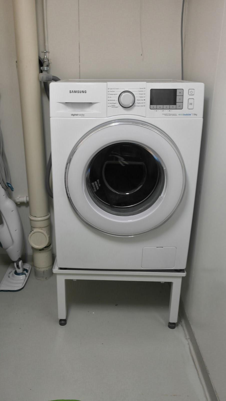 Underlag vaskemaskin