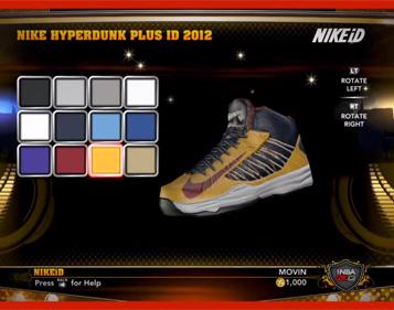 NBA 2K13 NIKEiD Shoes