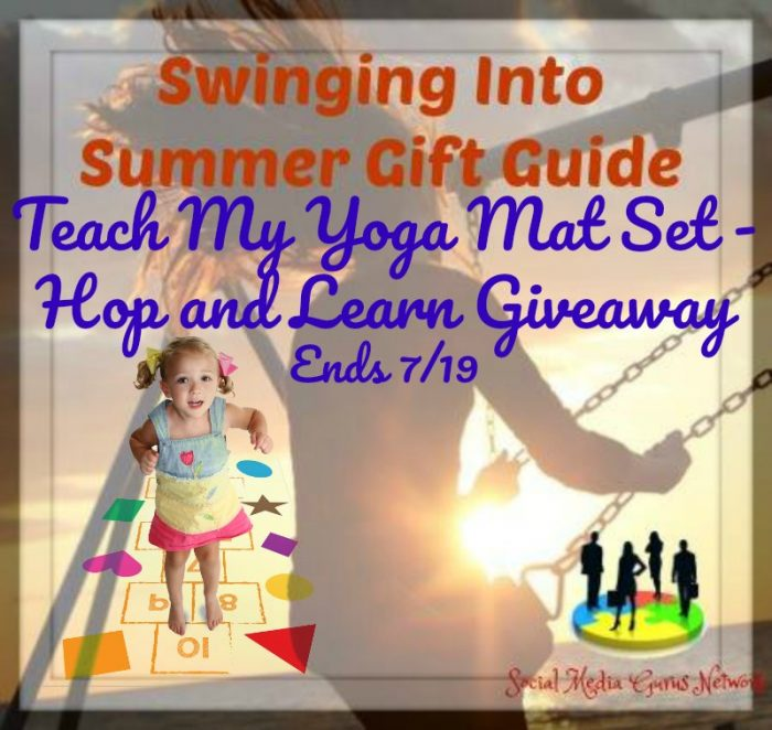 Teach My Yoga Mat Set Hop and Learn
