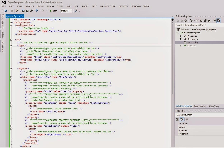 Programación (Mi MuNdO - Tu MuNdO): Plantillas (Templates) en Visual ...