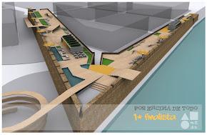 """M2DS architects 1º finalista con """"Por encima de todo"""""""