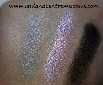 Trío de sombras de Vivo Cosmetics, Be-Dazzled