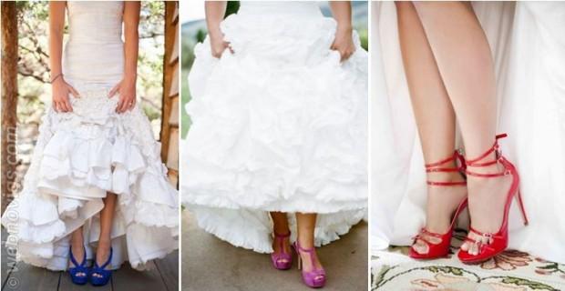 decisiones: si: a las novias con zapatos originales