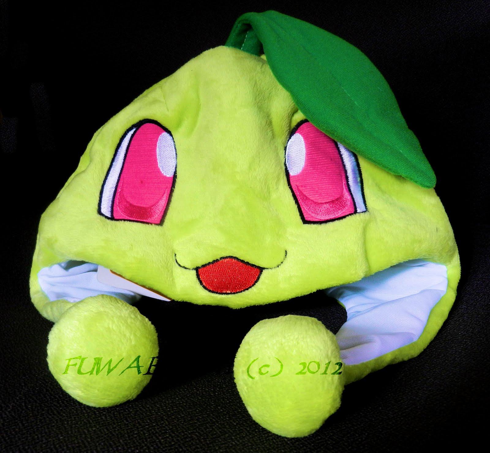 Fuwaboshi: Pokemon Chikorita Hat #B91257