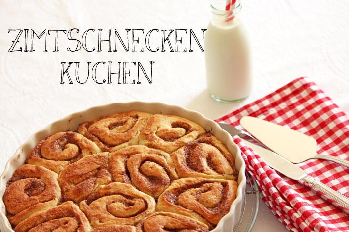 Amalie loves Denmark Dänischer Zimtschneckenkuchen