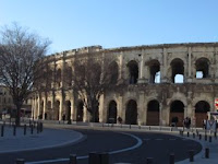 colosseum, Nimes, France