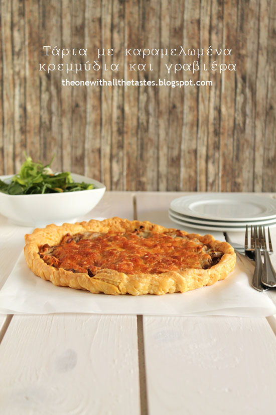 Onion-gruyere-tart