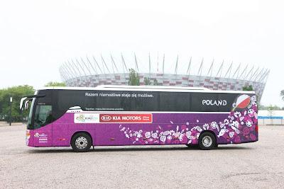 Polski autokar na euro 2012