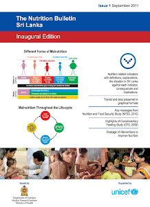 Sri Lanka Nutrition Bulletin -Download from here
