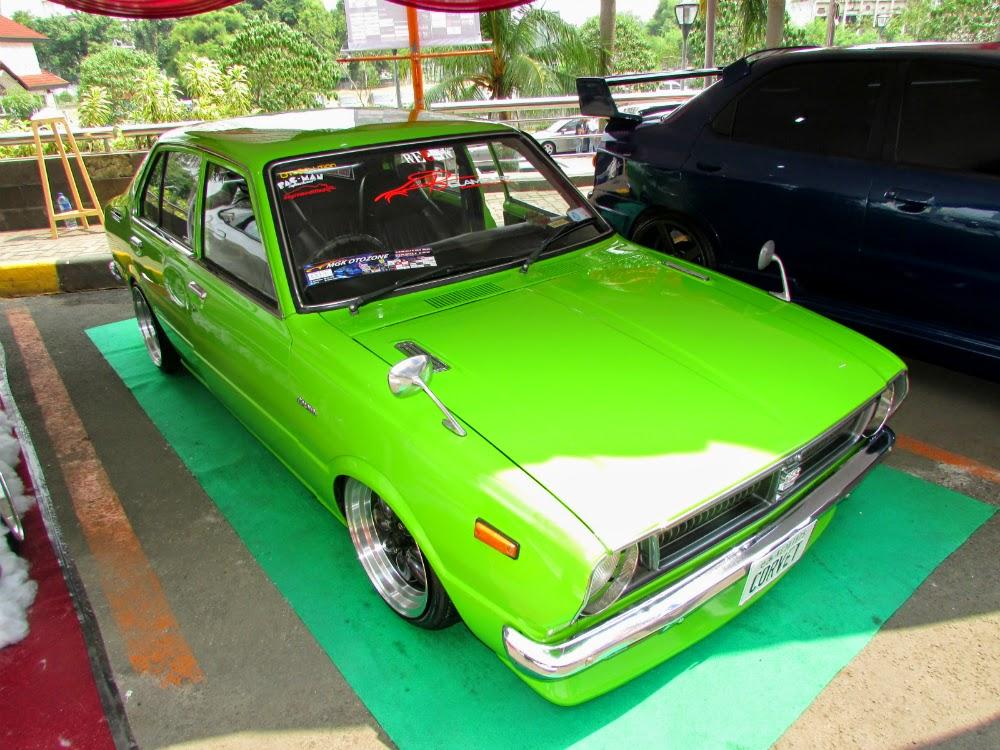 Modifikasi Toyota Corolla Ceper, Tampil Antik dan Bergaya Nyentrik