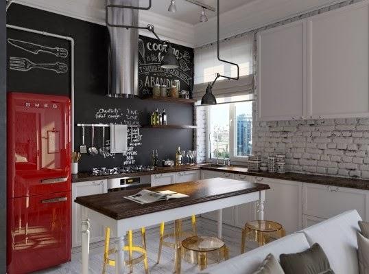 desain rumah minimalis hitam putih