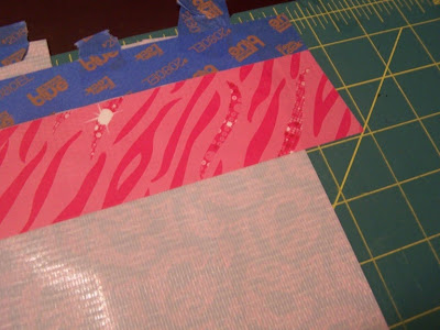 Scotch Colors and Patterns Duct Tape Barbie Apron by 504 Main