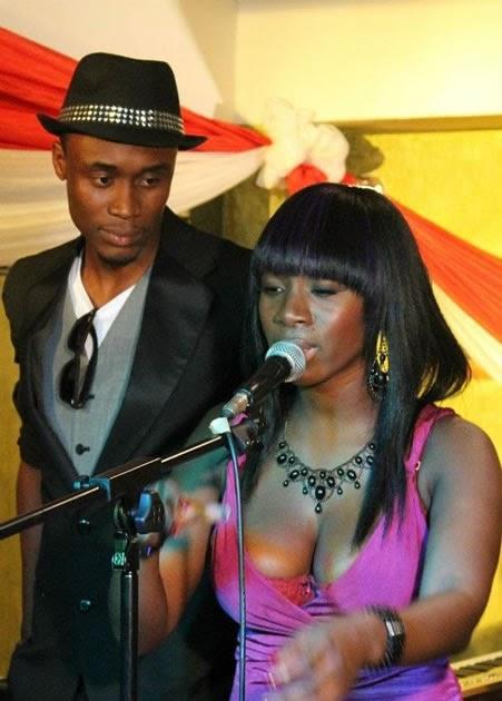 NOT AGAIN!! Photo Of Ghanaian Musician, Raquel Performing