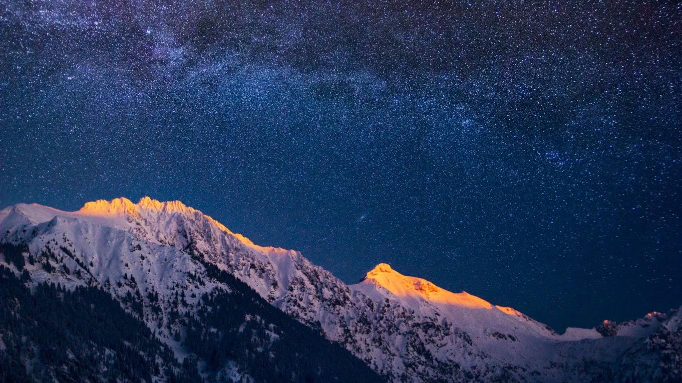 Звездное небо. Фото