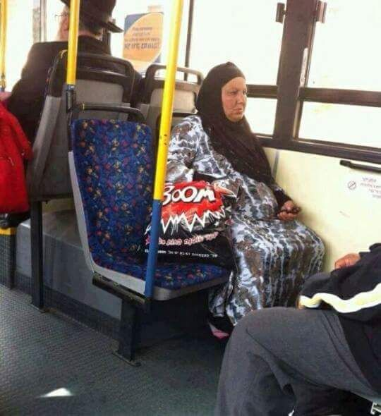 Muslim Woman Bag Fail Picture