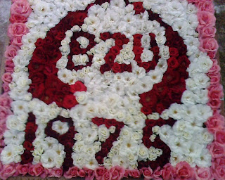 Flowers Saying BZU