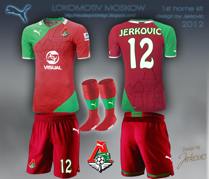 Lokomotiv Moscow Kit Lokomotiv Moscow Football Kit