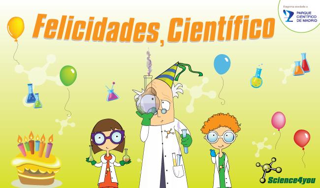 Science4you cumpleaños cientificos