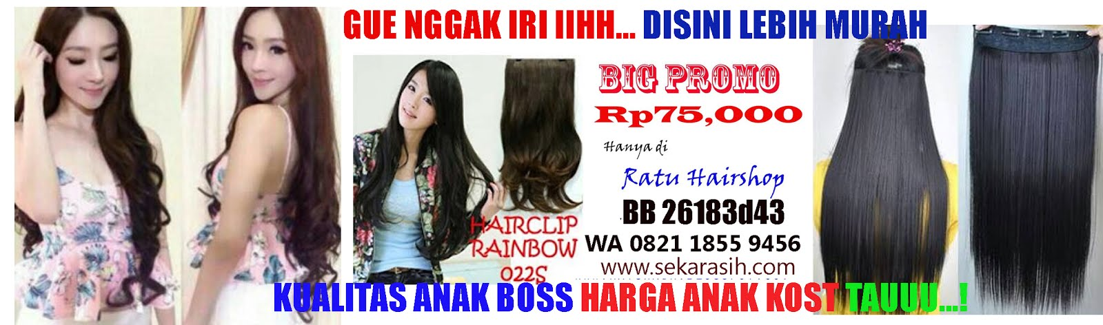 Grosir Hairclip Import Murah