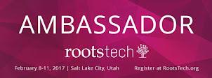 Rootstech 2017 Ambassador
