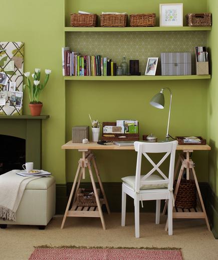 Rincon de trabajo decorar tu casa es for Salon workspace