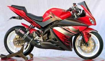 Modifikasi Yamaha New Vixion R6
