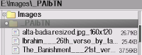 Menghilangkan folder pAlbTN