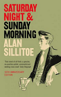 Saturday Night and Sunday Morning by Alan Sillitoe book cover