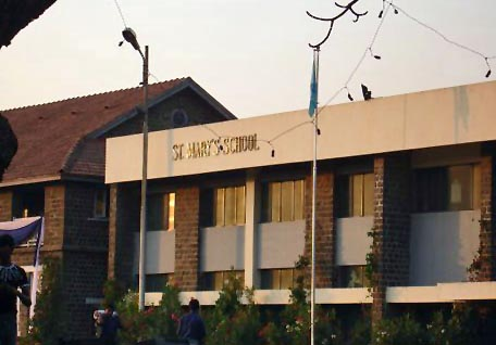 Buildings of St. Mary's school in Pune