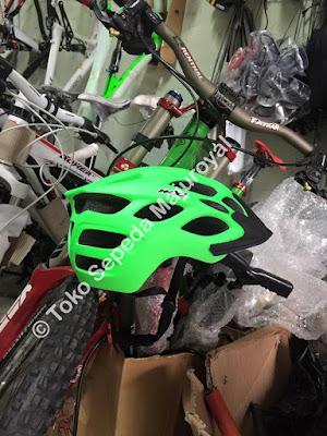 Helm Sepeda MXL mirip Fox Flux Hijau