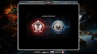 Battlestar Galactica Online - Choosing Sides Cylon or Colonial