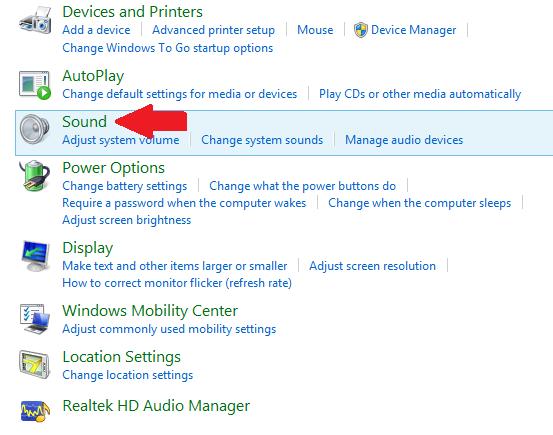 كيف ارفع صوت اللابتوب ؟ ويندوز 8 و 8.1